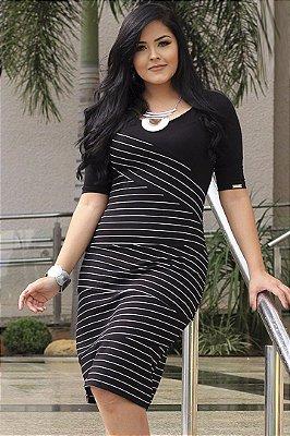 Vestido Listrado Monia 72349