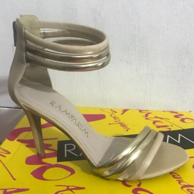 Sandalia Ramarim Dourada 1364206