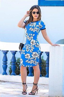 Vestido Tubinho Moda Evangelica Boutique K 4755
