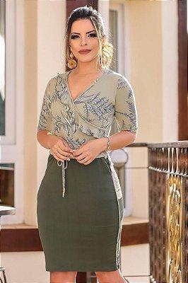 Vestido em Malha Moda Evangelica Boutique k 4772