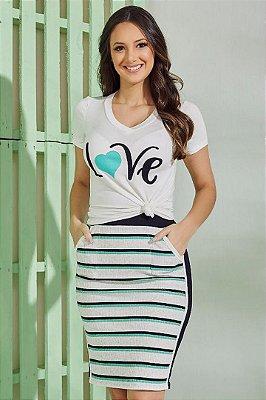 Conjunto Love Moda Evangelica Tata Martello 5158