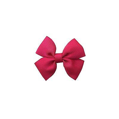 Laço Pequeno Rosa Escuro - Paris Petit