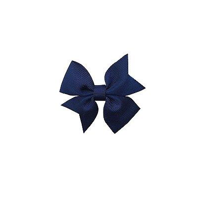 Laço Infantil Azul Marinho - Catavento Simples P