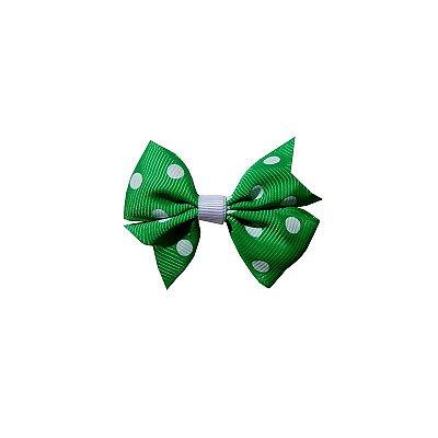 Laço Infantil Verde Poá - Provence Petit