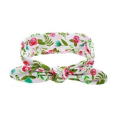 Headband Infantil - Rosas