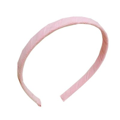 Tiara de Tecido Infantil - Rosa Claro