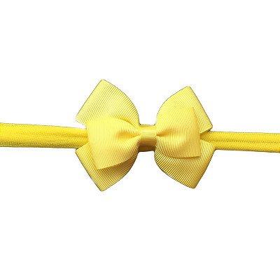 Faixa de Cabelo Infantil - Amarela