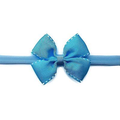 Faixa de Bebê Azul Claro Pespontado