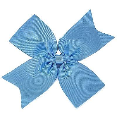 Laço Catavento Simples Grande Azul Claro