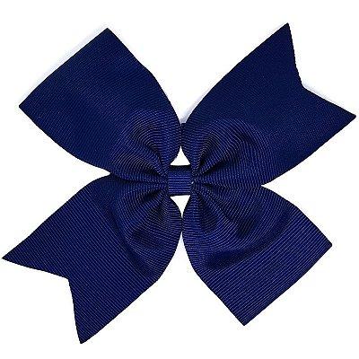 Laço Catavento Simples Grande Azul Marinho
