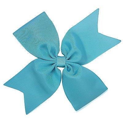Laço Catavento Simples Grande Azul Tiffany