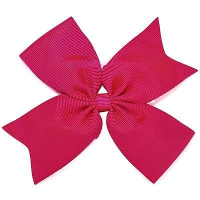 Laço Catavento Simples Grande Rosa Pink