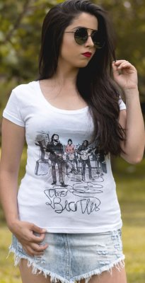 CAMISA FEMININA THE BEATLES