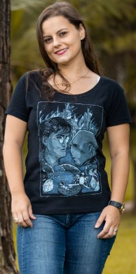 CAMISA FEMININA HARRY POTTER