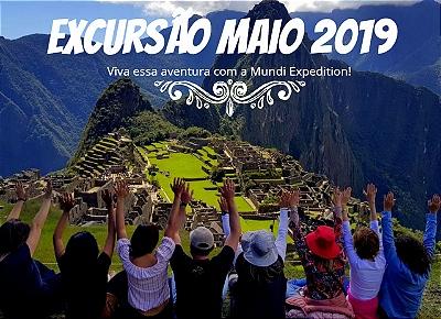 Excursão Machu Picchu maio 2019