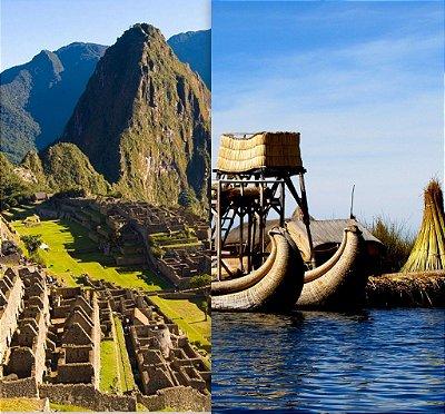 Peru Cusco, Machu Picchu, Rota do Sol e Titicaca. Pacote de 7 dias
