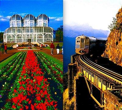 Curitiba + Morretes de trem. Express. Pacote de 3 dias
