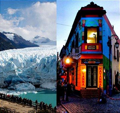 Argentina Maravilhosa. Buenos Aires e Patagônia. 7 dias e 6 noites