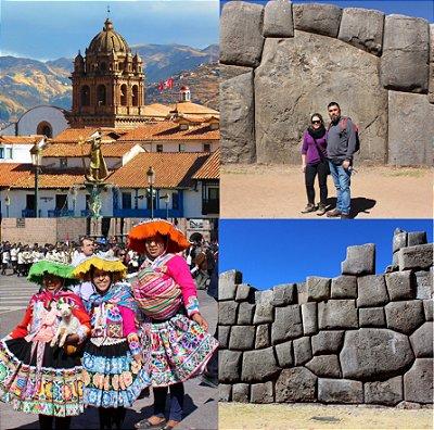 City Tour Centro Histórico de Cusco + 4 sítios: Sacsayhuaman, Pukapukara, Qenqo e Tambomachay. 5h