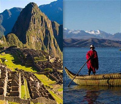 Mochilão Peru Machu Picchu, Cusco, Vale Sagrado e Titicaca.  7 dias. Saídas diárias.