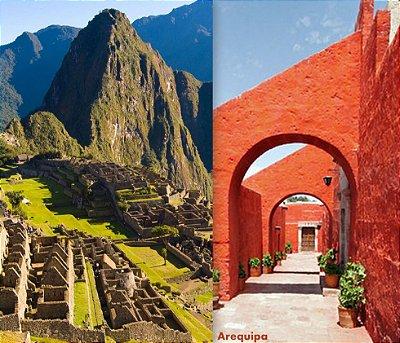 Mochilão Peru Machu Picchu, Cusco, Vale Sagrado, Titicaca e Arequipa de 12 dias. Saídas diárias.