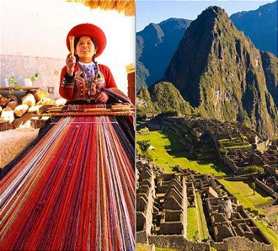 Mochilão Peru Machu Picchu e Cusco 5 dias. Saídas diárias.