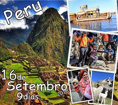 Excursão 16 Setembro Peru 9 dias: Cusco, Vale Sagrado dos Incas, Machu Picchu, Raibow Mountain (ou Lago Humantay) e Titicaca.