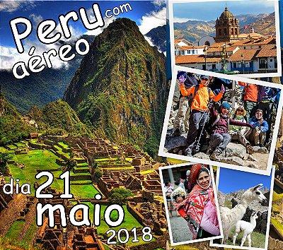 Excursão 21 de Maio Peru 7 dias Machu Picchu + Titicaca com aéreo
