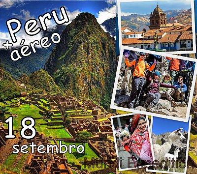 Excursão Com Aéreo 18 Setembro Peru 6 dias: Cusco, Vale Sagrado dos Incas, Machu Picchu