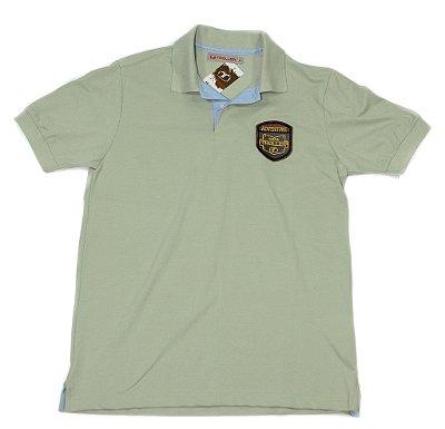 Camisa Polo - cor areia - Masculino - TROLLER ADVENTURE