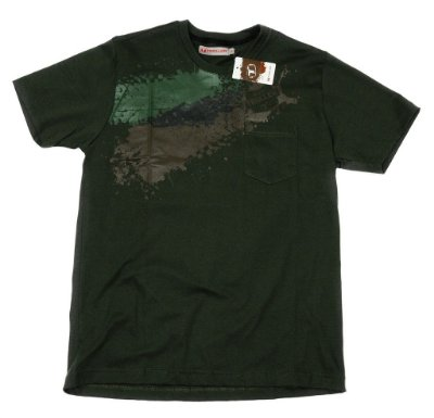 Camiseta Masculina Adventure Troller- Verde escuro