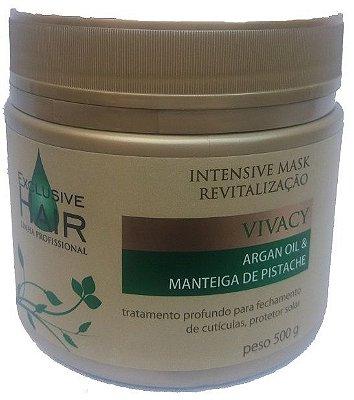 Máscara de Hidratação Vivacy Argan Oil & Manteiga de Pistache 500g
