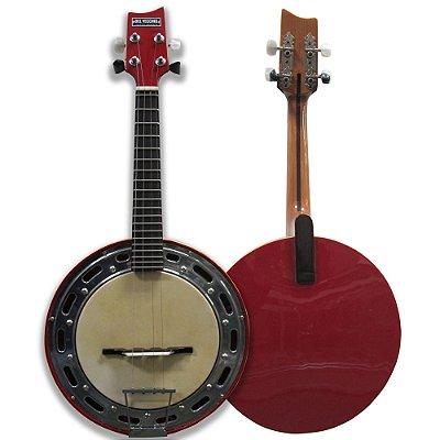 Banjo Colors Vermelho Retrô