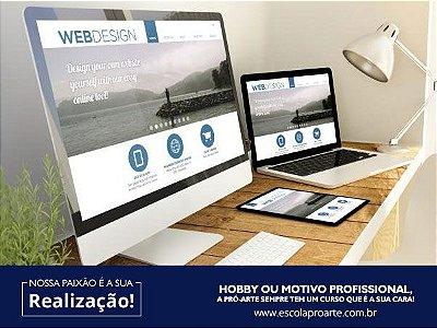 WEB DESIGNER - Mensal Aulas  1 vez por semana