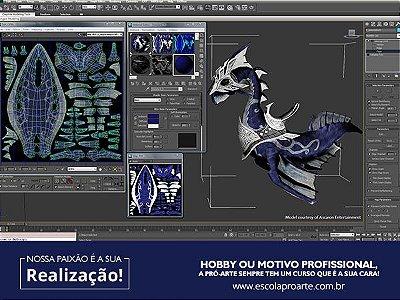 3D STUDIO MAX - Curso Individual - 20 horas
