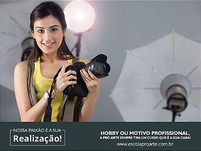 FOTOGRAFIA em ESTÚDIO  - Mensal Aulas  2 vezes por semana