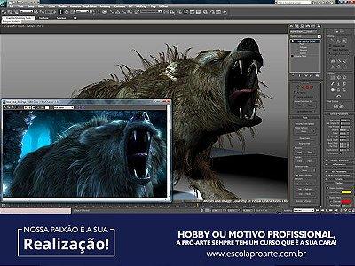 3D STUDIO MAX - Curso Individual - 10 horas