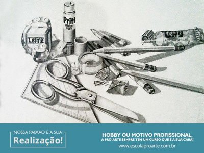 DESENHO PUBLICITÁRIO- Curso Individual Básico- 10 horas