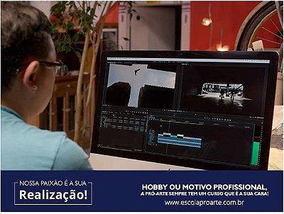 Edição de Vídeo (After Effects + Premiere) - Curso Individual - 30 horas