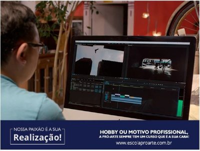 Edição de Vídeo (After Effects + Premiere) - Curso Individual - 20 horas