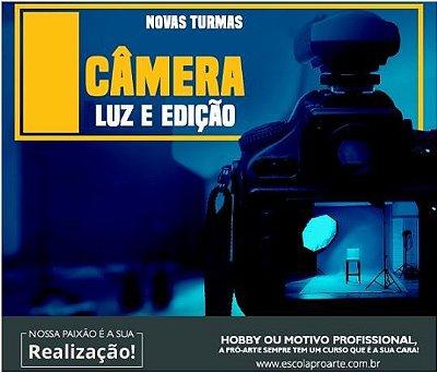Curso de Fotografia - Câmera Luz e Edição Curso Individual - 10 horas