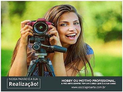 FOTOGRAFIA - Curso Individual Básico - 20 horas