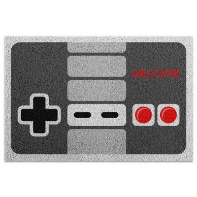 Capacho em Vinil Joystick Nintendo