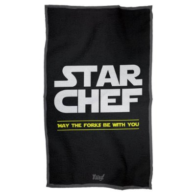 Pano de Prato Star Chef - Star Wars