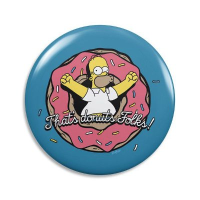 Abridor de Garrafa Donuts Homer Simpson - The Simpsons