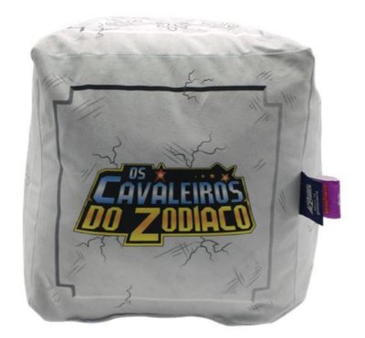 Almofada Caixa Armadura Cavaleiro do Zodíacos