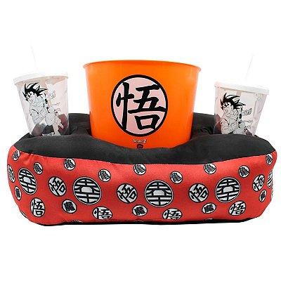 Almofada Porta-Pipoca Goku Dragon Ball Z