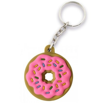 Chaveiro Rosquinha Donut The Simpsons