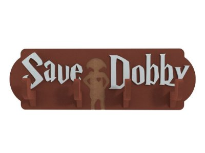 Cabideiro Save Dobby - Harry Potter