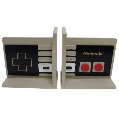 Aparador de Livros Joystick Nintendo